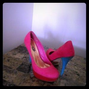 Cotton Candy Heel